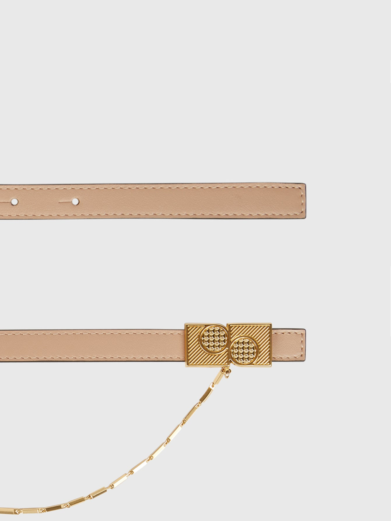 Thin Belt with Chain