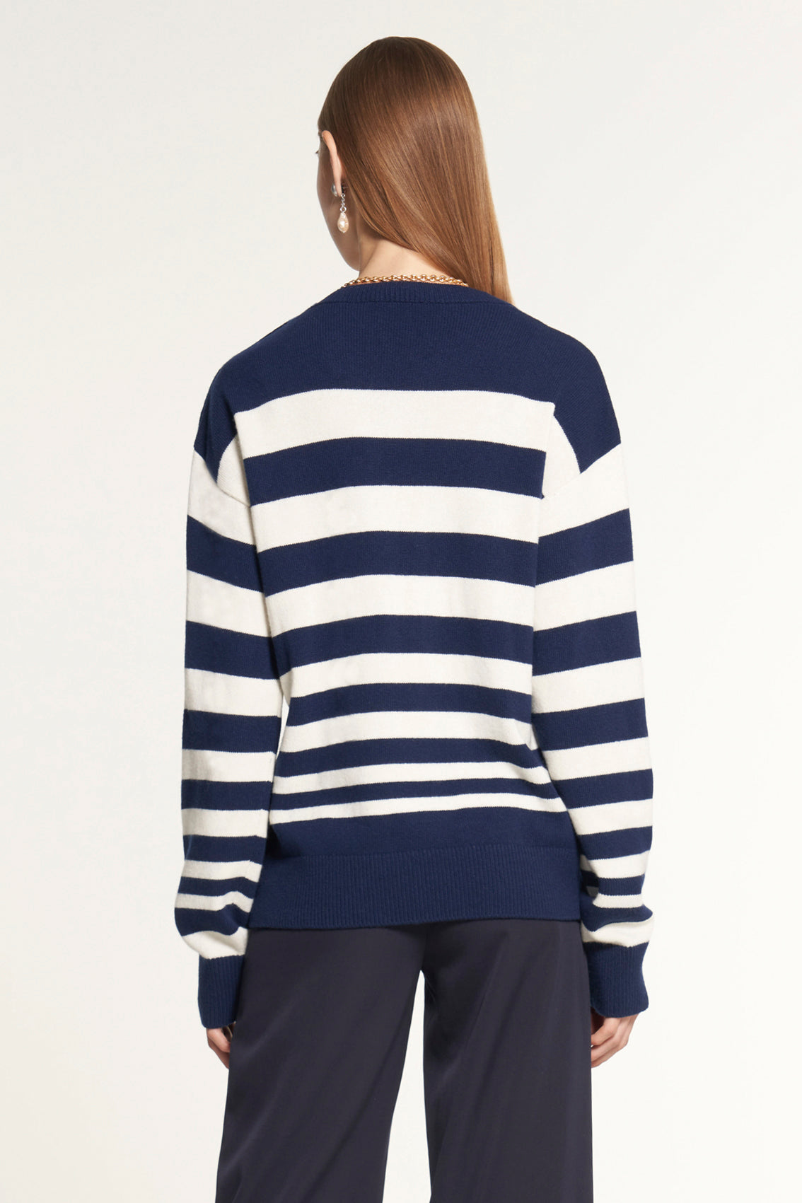 Nautical Drop Shoulder Sweater