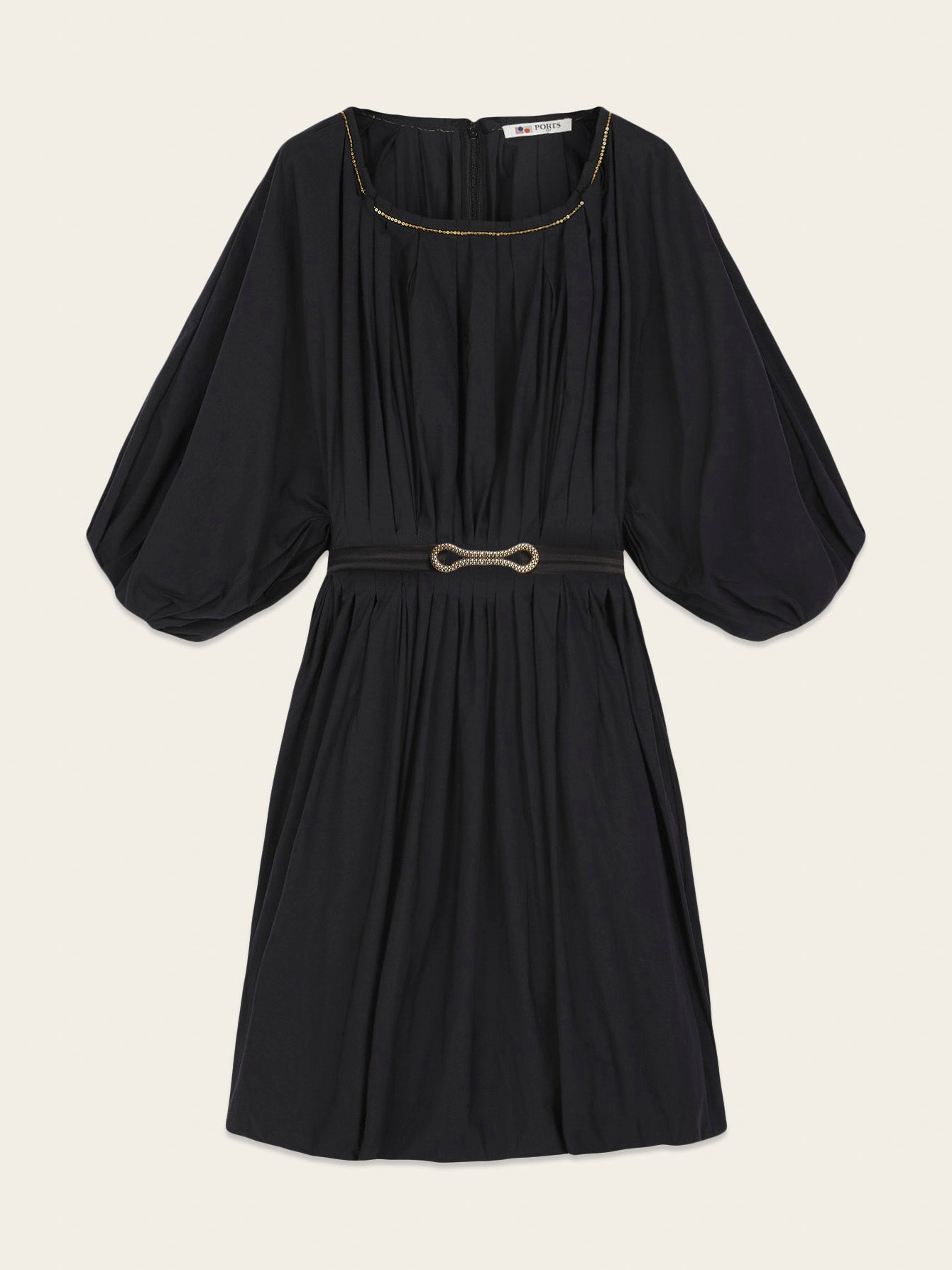 Peasant Blouson Dress