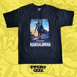 Playera Caballero Star Wars The Mandalorian