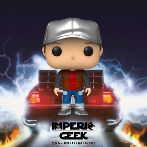 Funko pop Back to the Future- Marty in future outfit #962