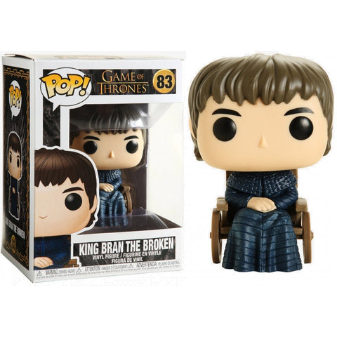 Funko pop! Television - GOT - Rey Bran el roto - King Bran the broken #83