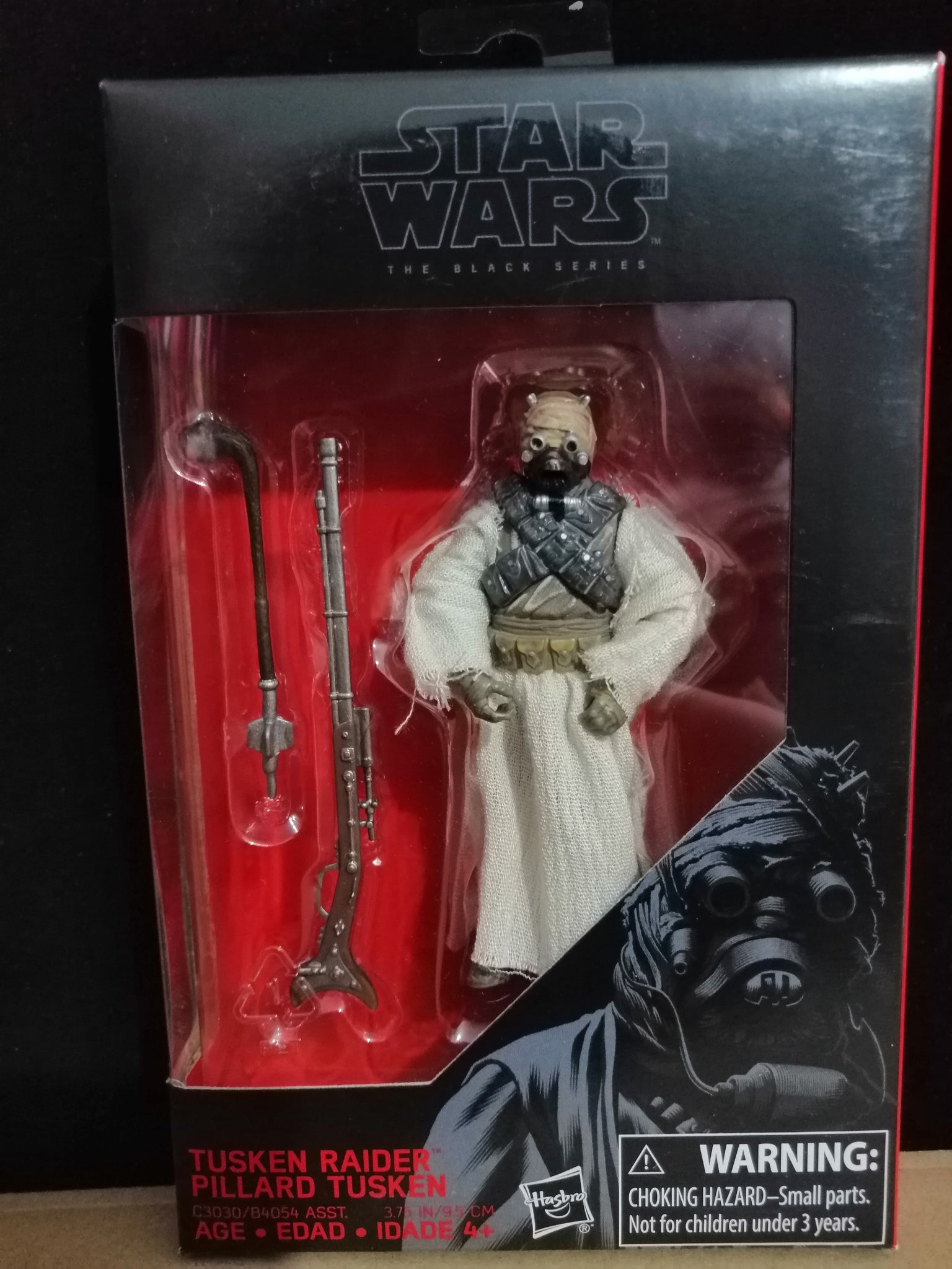 Star Wars TUSKEN RAIDER PILLARD TUSKEN. The Black Series