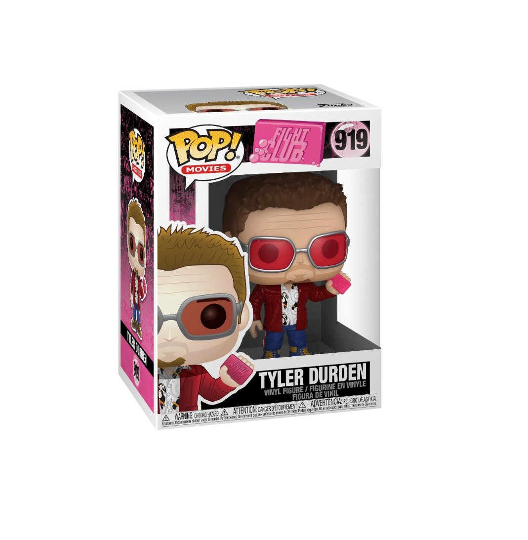 Funko pop movies-Fight Club Tyler Durden #919