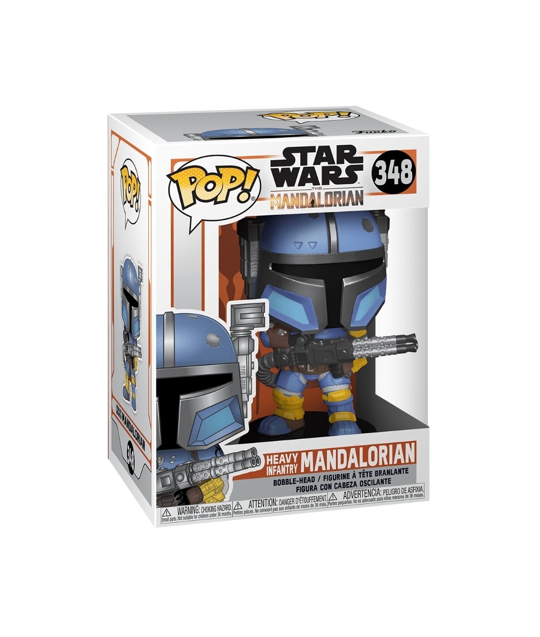 Funko pop Star Wars-Heavy Infantry Mandalorian #348