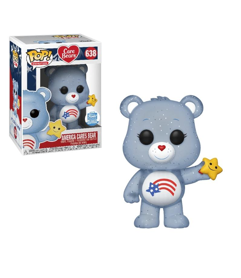 Funko pop Animation- Care Bears America Cares Bear #638 Exclusivo Funko shop