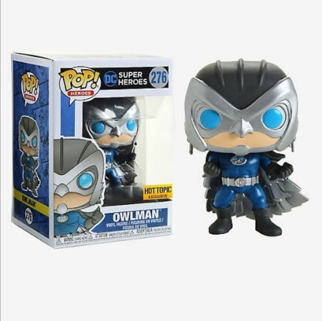 Funko pop DC Owlman #276 Exclusivo Hot topic