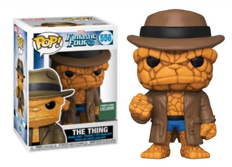 Funko pop Marvel  The thing #556 exclusivo B&N