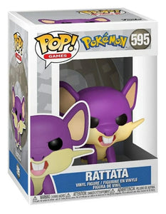 Funko pop Games-Pokemon Rattata #595