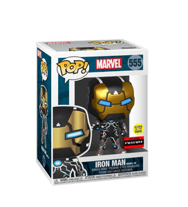 Funko Pop Marvel Iron Man model 39 gitd Exclusivo AAA