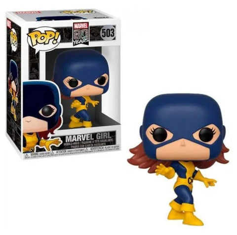 Funko pop Marvel 80aniversario Marvel Girl #503