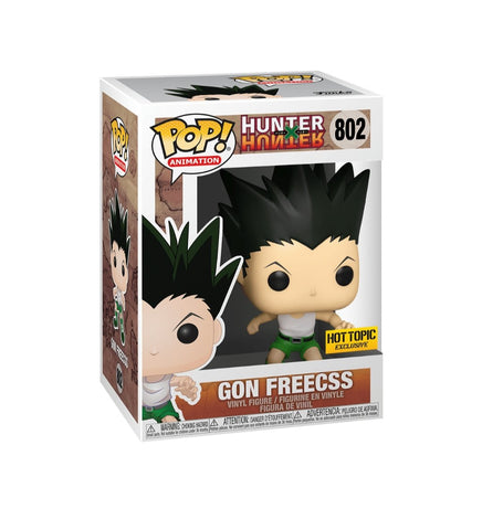 Funko pop Animation Hunter x Hunter Gon Freecss #802 Exclusivo Hot topic