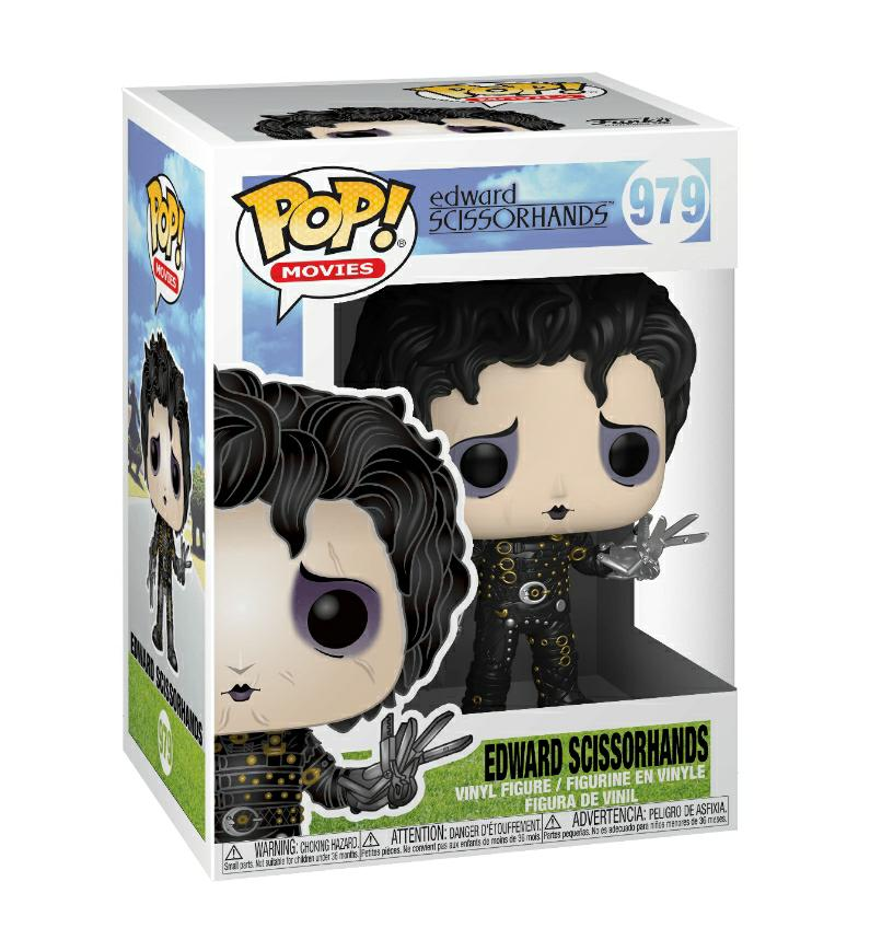 Funko Pop movies Edward Scissorhands  - Hombre manos de tijera #979