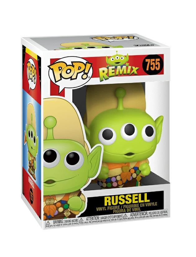 Funko pop Disney Alien Remix- Russell #755