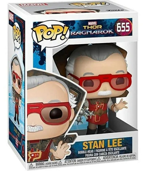 Funko pop Marvel- Stan Lee Thor Ragnarok #655