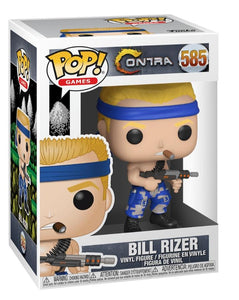 Funko pop Games Contra Bill Rizer #585