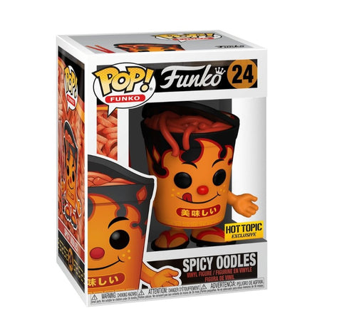 Funko pop  Spicy Oodles #24 Exclusivo Hot topic