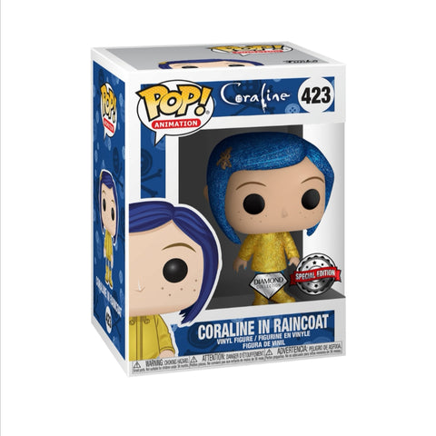 Funko pop Animation Coraline Diamond #423 edición especial