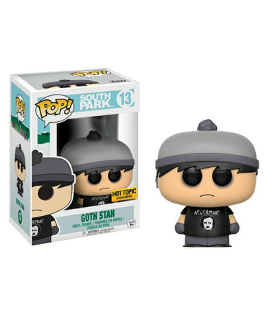 Funko pop Television South Park Goth Stan  #13 Exclusivo HT
