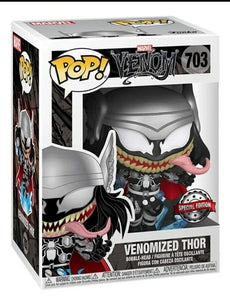 Funko pop Marvel Venom Venomized Thor #703