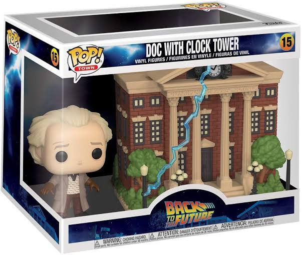Funko Pop Back to the future Doc with Clock Tower #15