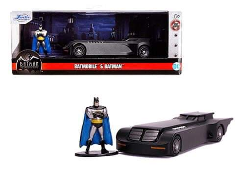 Auto escala 1/32 Batimóvil y Batman serie animada