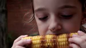 Eat Cob Corn
