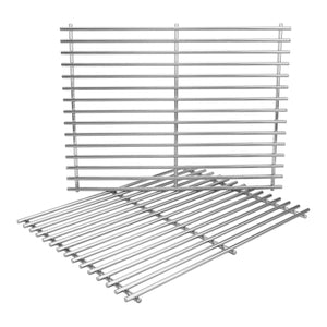 "Char-Broil 17"" Stainless Steel Grill Cooking Grates Replacement 2 Pack"