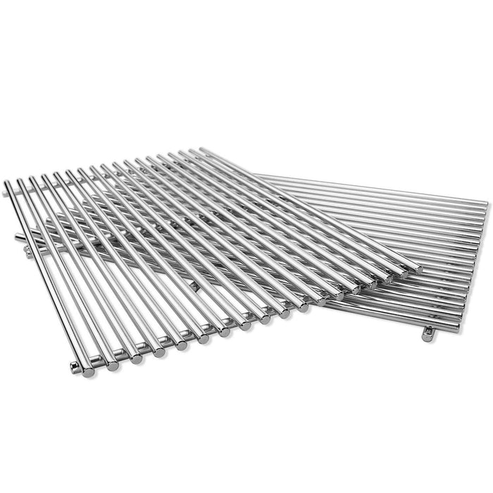 "Weber 7524 Cooking Grates 19 1/2 x 12 9/10"" x 2 Pack Stainless Steel Grill Replacement Kit"
