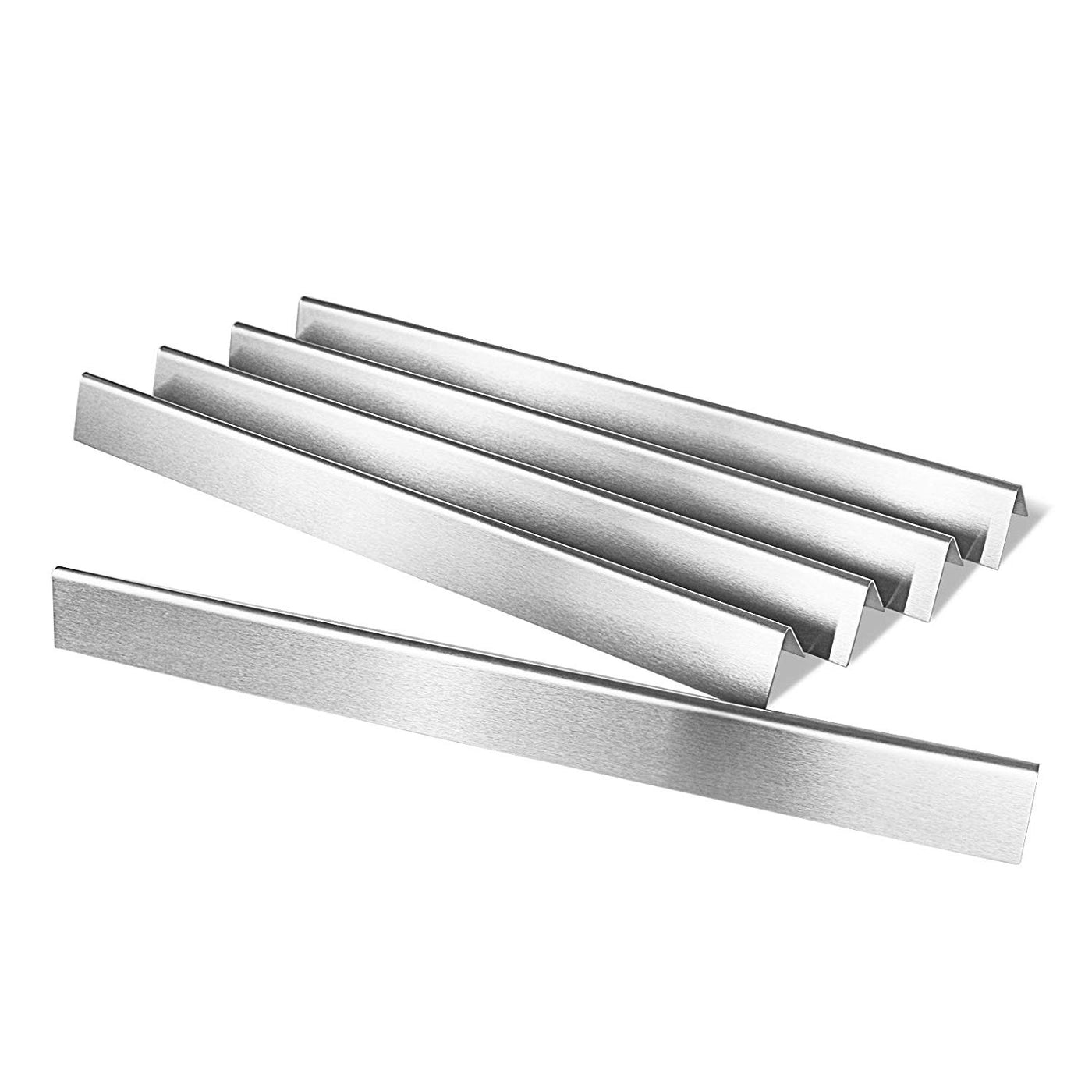Set of 5 Flavorizer Bars Replacement Stainless Steel Heat Plates Weber BBQ Grill