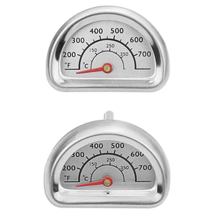 Char Broil BBQ Gas Grill Repair Part Temperature Gauge Heat Indicator