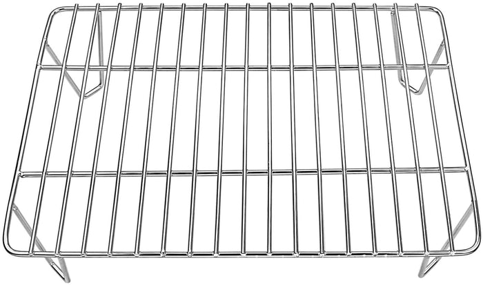 "14x10x3.51"" Green Mountain Grill  Davy Crockett Pellet Grill Rack GMG-6016 Stainless Steel Upper Rack Warming Rack Accessories Replacement Parts"