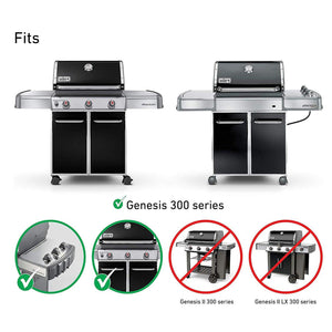 "Weber 7524 Cooking Grates 19.5"" Stainless Steel Grill Replacement Kit"