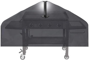 Blackstone 36 inch Griddle Cover for Flat Top Grill Griddle Station 4 Burner, Flat Top BBQ Cover with Support Pole
