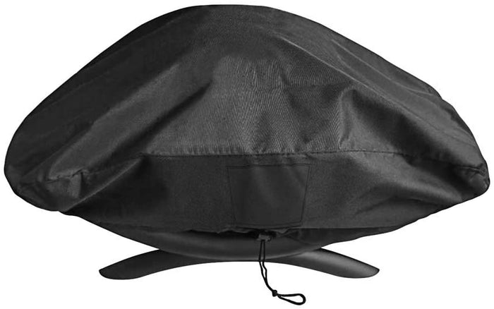 Weber 7111 Grill Cover for Q200, Q2000 Series Gas Grills Special Fade and UV Resistant Material, Special Fade and UV Resistant Patio BBQ Grill Cover