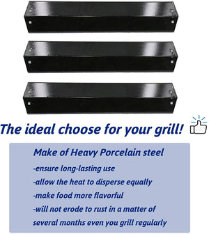 Char-Griller 18 Inch 3 Pics Heat Plates Grill Replacement Parts