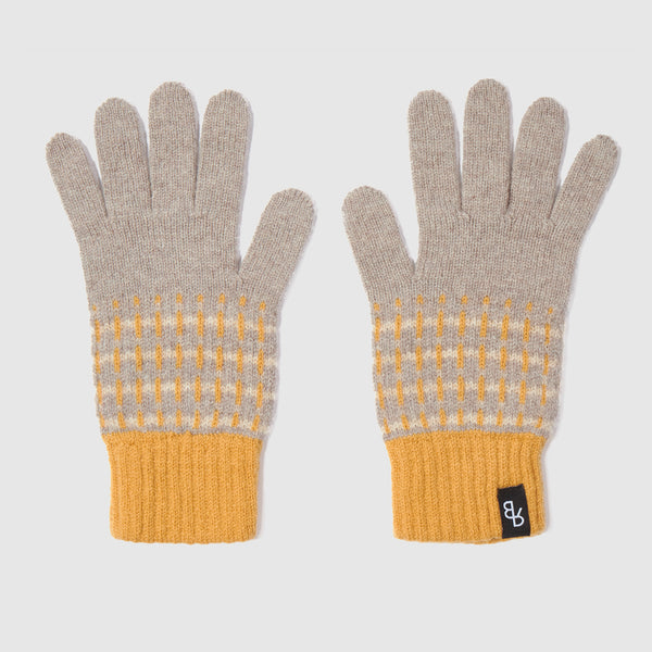 Boro Knitted Gloves | Harvest + Driftwood