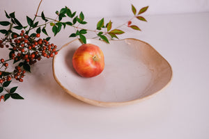 Handbuilt Serving Bowl - WORKSHOP