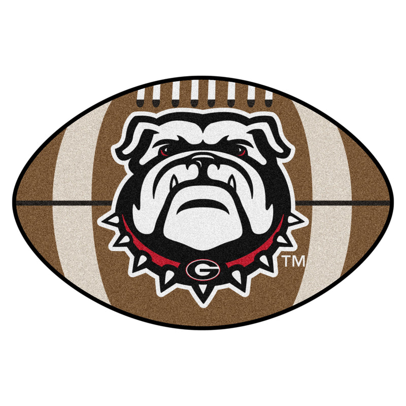 University of Georgia Bulldogs Football Rug