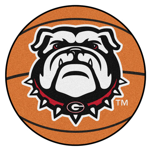 University of Georgia Bulldogs Basketball Rug