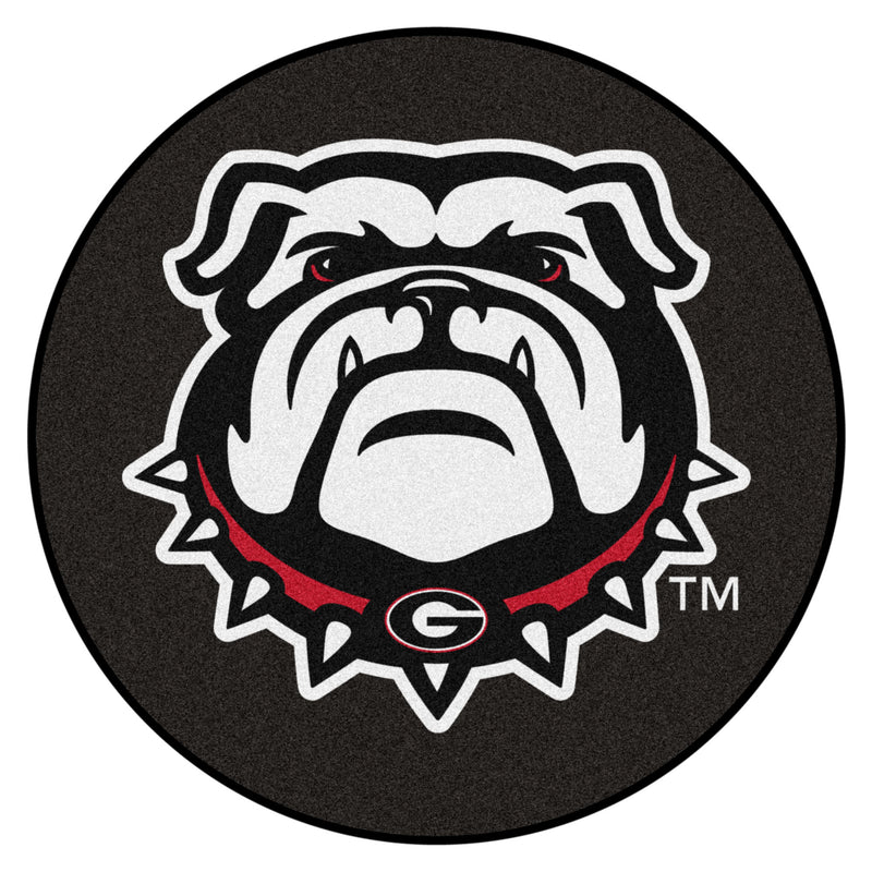 University of Georgia Hockey Puck Area Rug