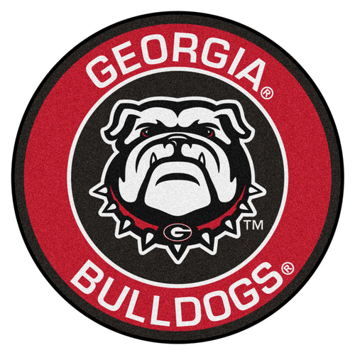 University of Georgia Bulldogs Roundel Mat