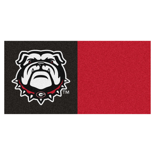 University of Georgia Bulldogs Carpet Tiles