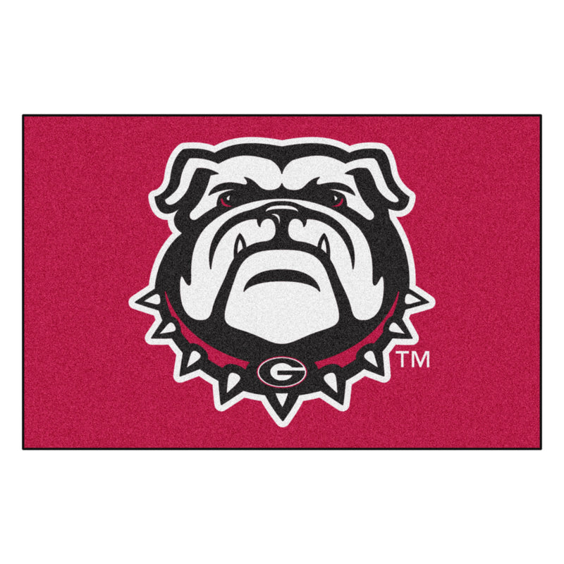University of Georgia Logo Starter Rug