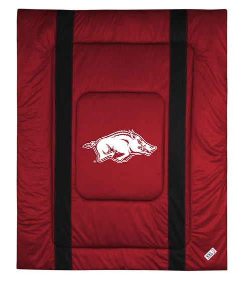 University of Arkansas Jersey Stripe Comforter