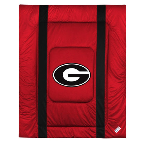 University of Georgia Jersey Stripe Comforter