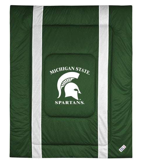 Michigan State University Jersey Stripe Comforter