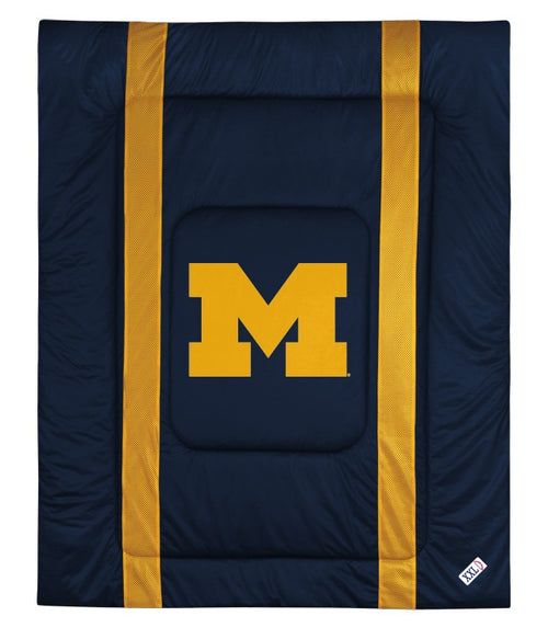 University of Michigan Jersey Stripe Comforter