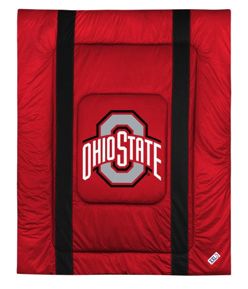 Ohio State University Jersey Stripe Comforter