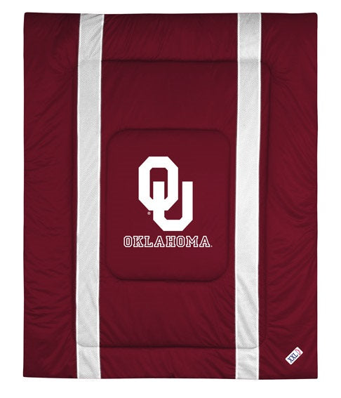 University of Oklahoma Jersey Stripe Comforter